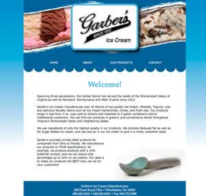 Garber's Ice Cream