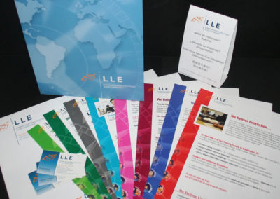LLE  Branding Sales Sheets