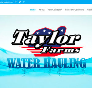 Taylor Farms Water Hauling